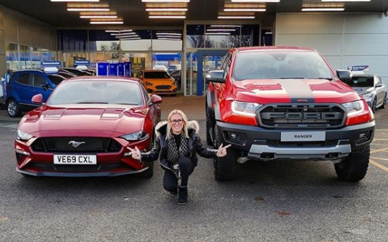 RS Jamie Visits Bristol Street Motors Ford Gloucester