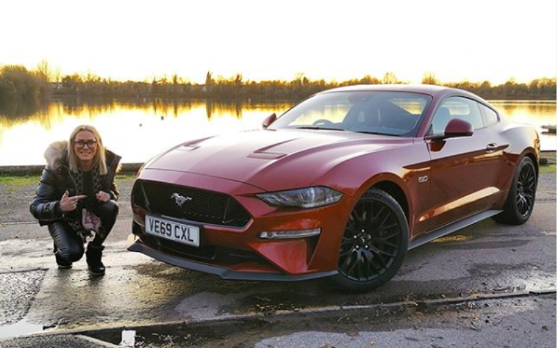 RS Jamie Road Trips Around The Cotswolds In A Ford Mustang V8