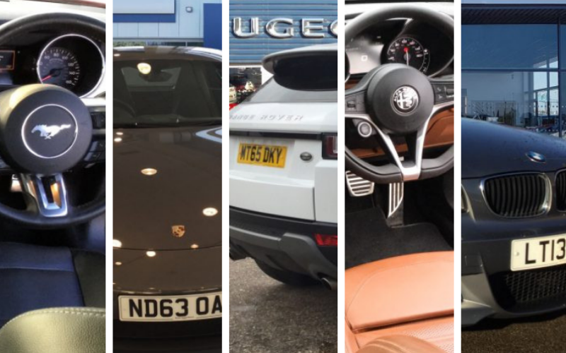 Luxury Used Cars In the January Sale