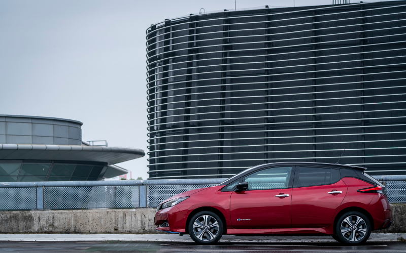 Nissan Leaf Crowned Car of the Year for 2019
