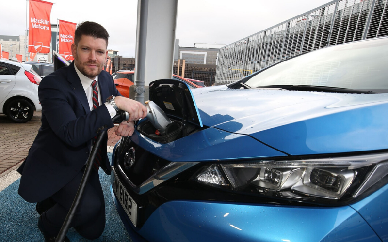 Electric Vehicle Accreditation For Macklin Motors Nissan Glasgow Central