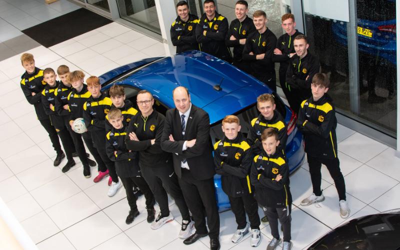 Stourport Football Club Set To Soar Thanks To Bristol Street Motors Worcester