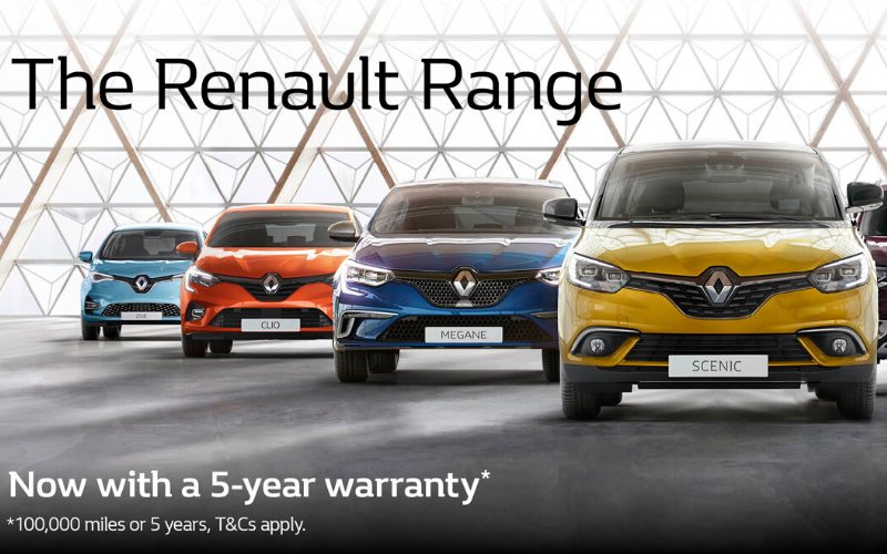 Renault Introduce Five-Year Warranty For All New Cars