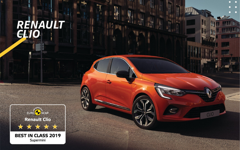 Euro NCAP Names The All-New Renault Clio As The Safest Supermini