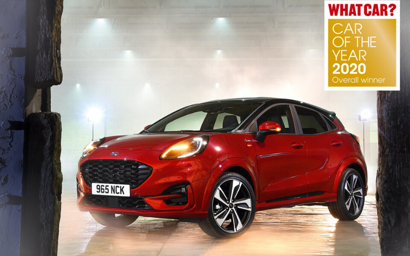 Ford Puma Is Named 2020 Car Of The Year