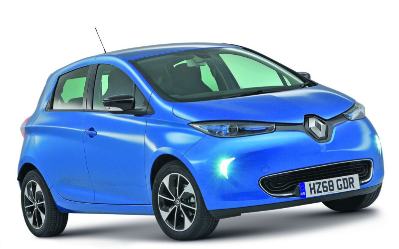 The Renault Zoe Wins Best Small Electric Car Award