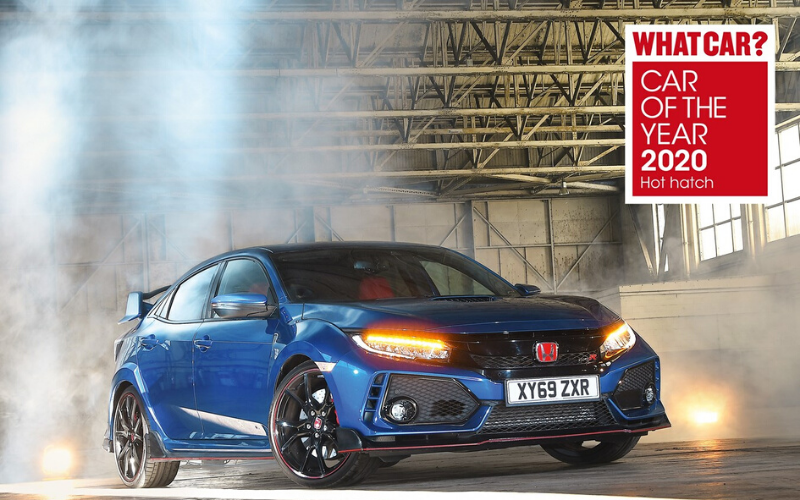 Honda Proves A Winner At The What Car? Car Of The Year Awards