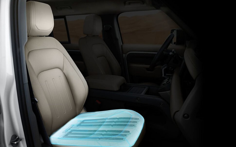 Jaguar Land Rover Have Developed A 'Morphable' Seat