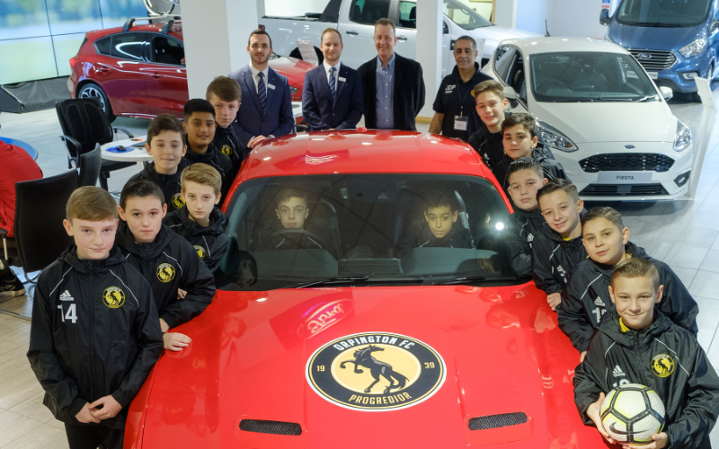 Orpington FC Mustangs Gear Up For Successful Season Thanks To Bristol St Motors