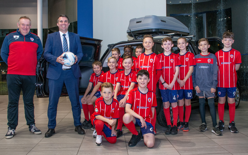 Bromsgrove Sporting FC Under 11s Gets Green Light From Bristol Street Motors