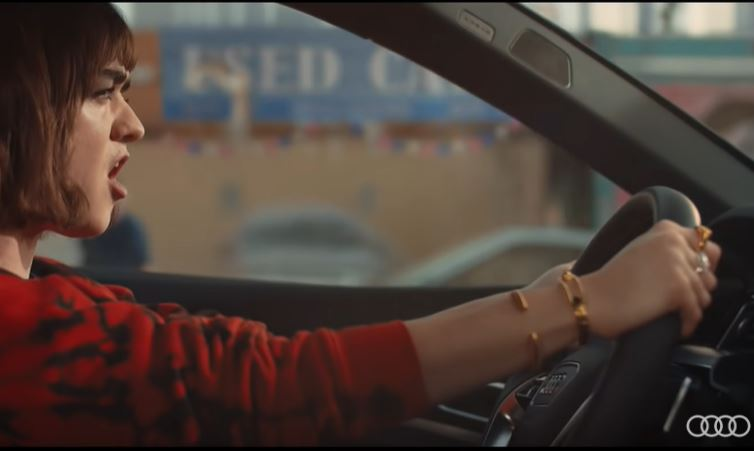 Audi's Epic e-tron Superbowl Advert With Game Of Thrones Star Maisie Williams