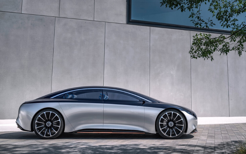 Mercedes-Benz 2021 EQS Spotted - Ready To Raise The Electric Bar