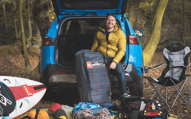 Steve Backshall And His Toyota RAV4 Hybrid Adventures