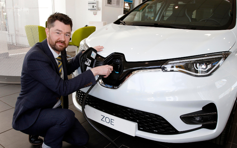Electric Vehicle Accreditation For Bristol Street Motors Renault Gloucester