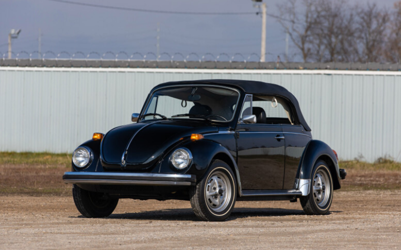 Rare 1979 Volkwagen Beetle Set To Sell For Over £35,000 At Auction