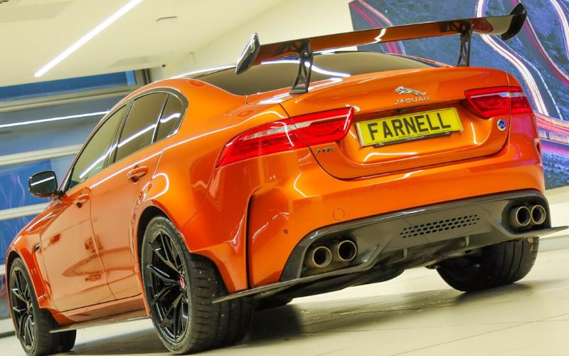 Exclusive Limited Edition Jaguar XE SV Project 8 At Farnell Jaguar