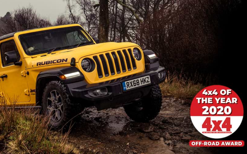 The Jeep Wrangler Wins Off-Road Award