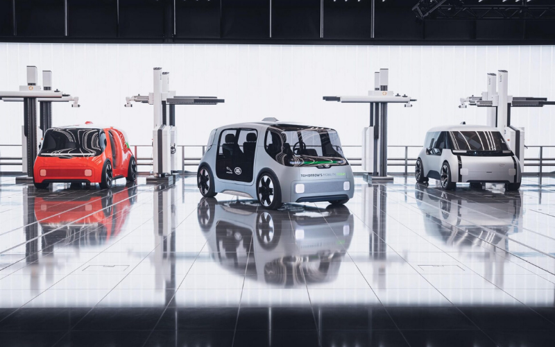 The 2020 Jaguar Land Rover Autonomous Electric Concept Car
