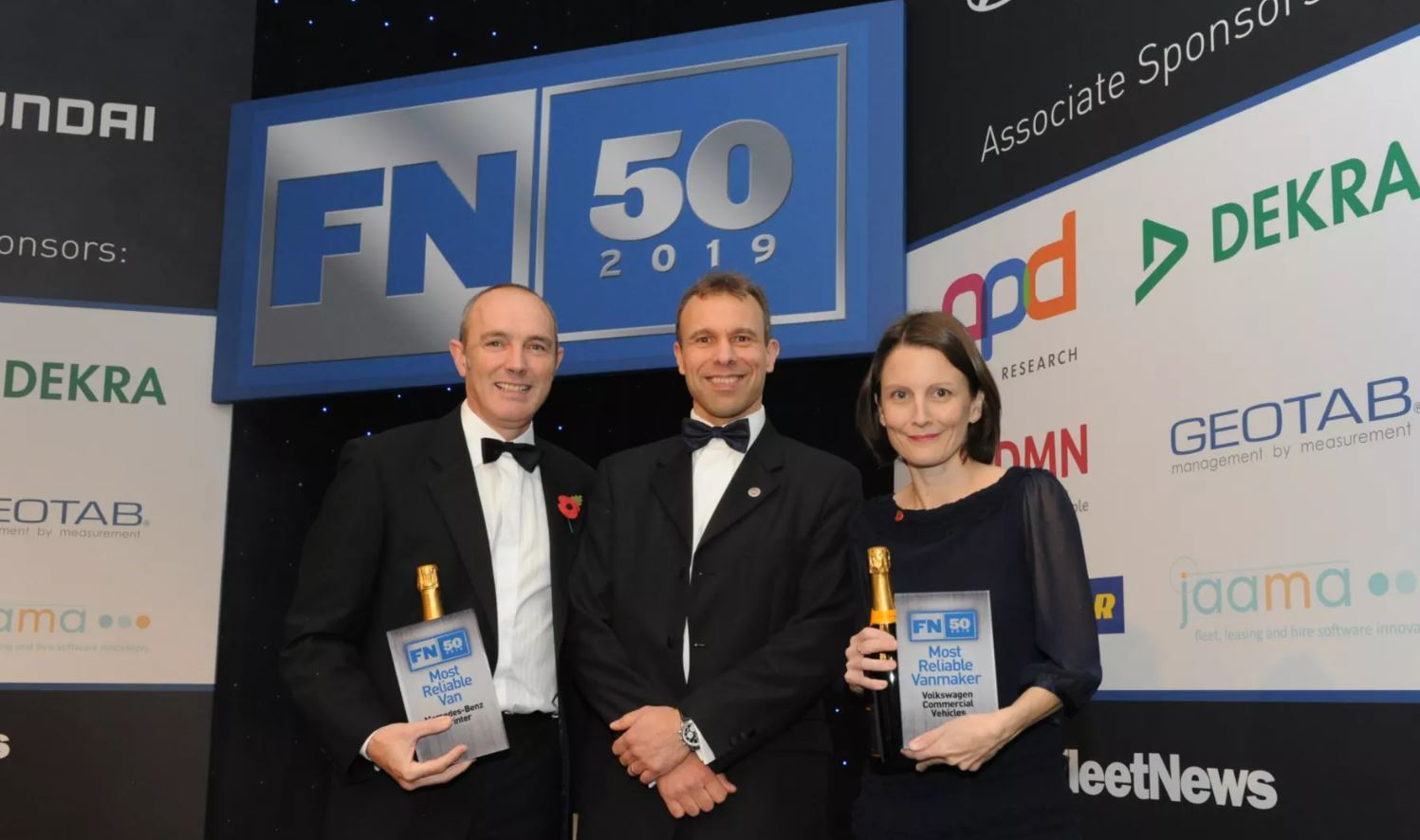 Volkswagen Commercial Vehicles Named Most Reliable Vanmaker At FN50 Awards