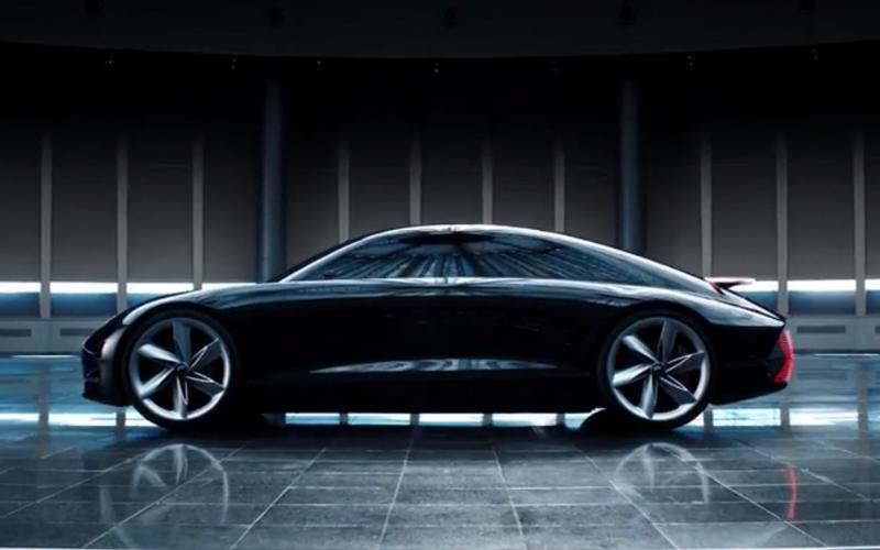 Hyundai Reveal EV Prophecy Concept