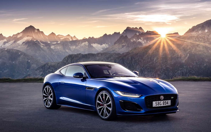 New Footage Released Of The 2020 Jaguar F-Type