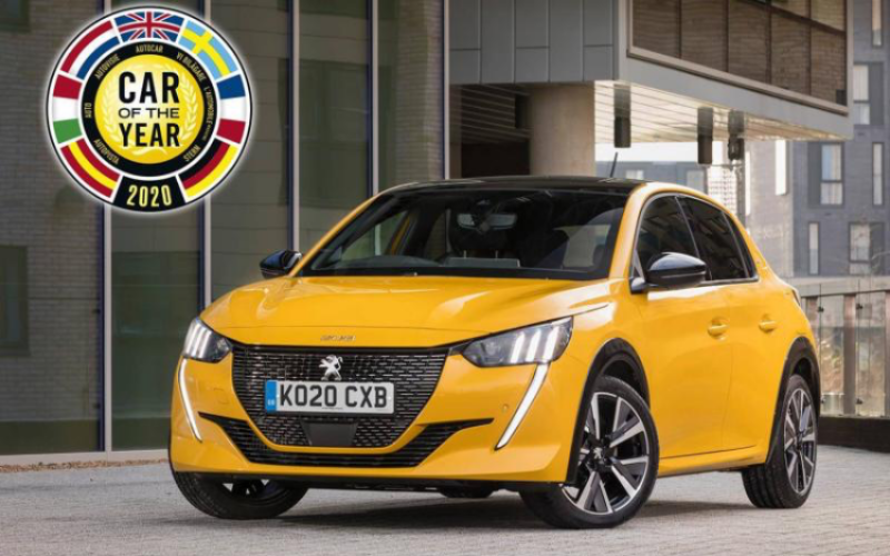 Peugeot 208 Is Named Car Of The Year 2020