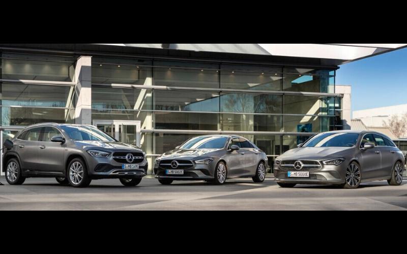 Mercedes-Benz Has Introduced Three New Compact-Car PHEV Models