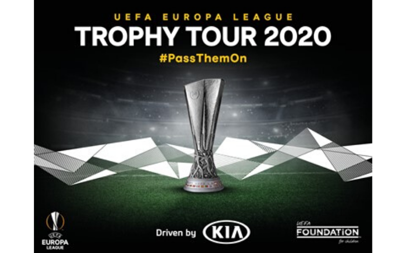 2020 UEFA Europa League Trophy Tour Driven By Kia