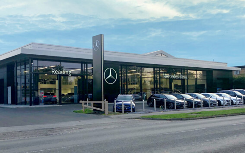 Significant Investment At Mercedes-Benz Reading