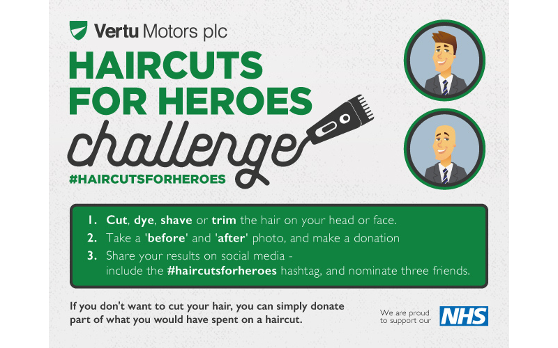 Haircuts For Heroes!