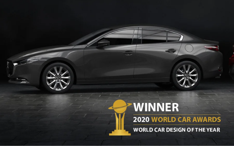 Mazda3 is Named 2020 World Car Design of the Year