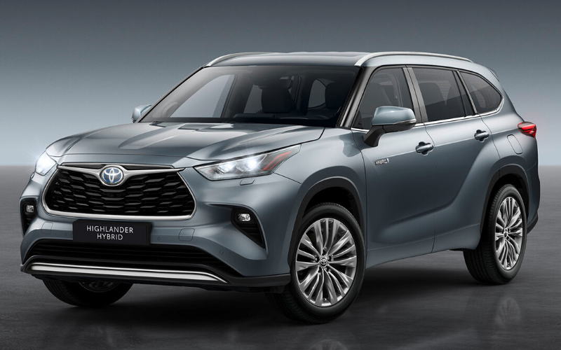 Introducing Toyota's Largest Self-Charging Hybrid: The All New Toyota Highlander