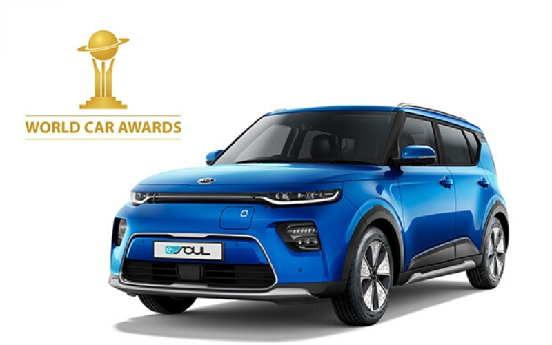 The All-Electric Kia e-Soul Named World Urban Car In 2020 World Car Awards