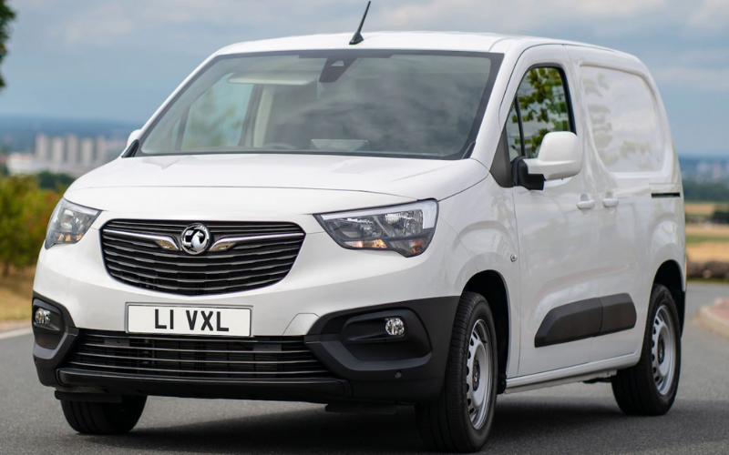 The Vauxhall Combo Cargo is Named 2020 'Best Small Delivery Van'