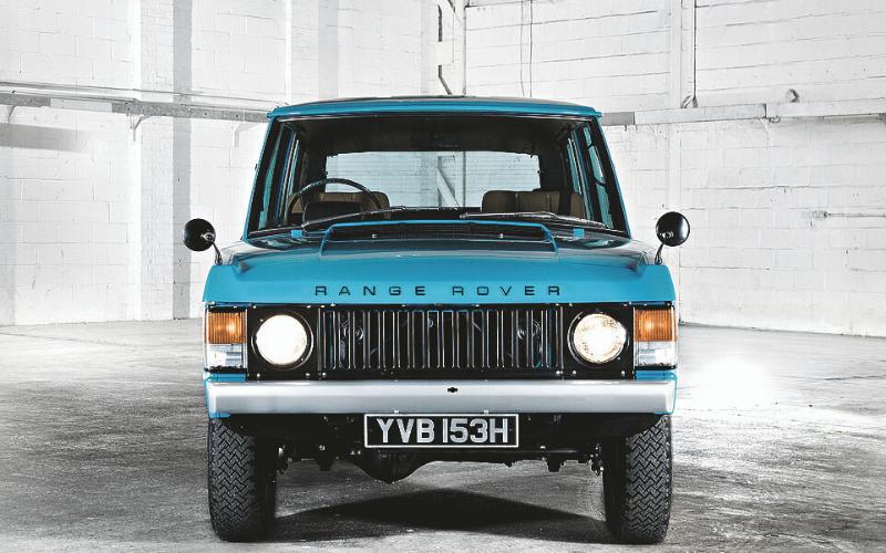 The Iconic Range Rover Celebrates 50 Years Of Production