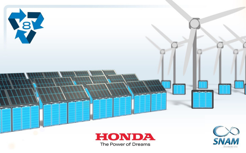 All Honda Hybrid and EV Batteries Gain 'Second Life' In New Recycling Initiative