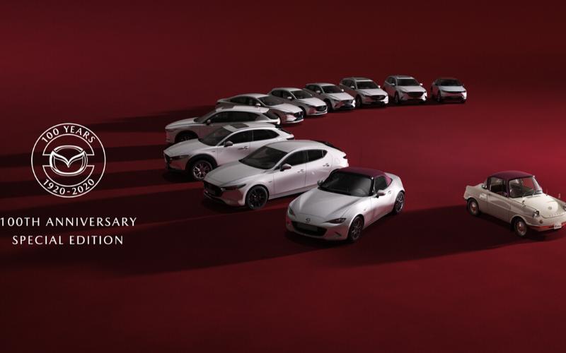 Celebrating 100 Years of Mazda