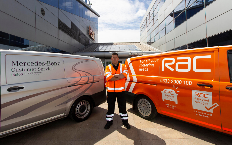 Mercedes-Benz Have Extended Their RAC Roadside Assistance Contract