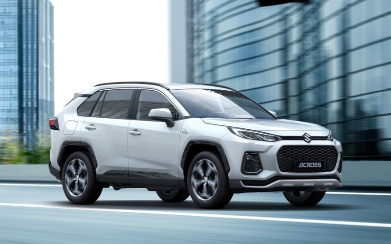 Meet The All New Suzuki Across - Inspired By The Toyota RAV4