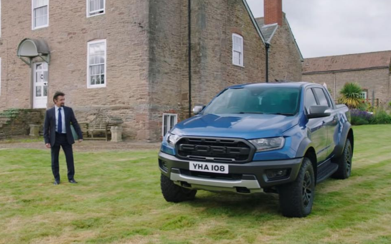 Richard Hammond's Mid-Life Crisis: The Ford Ranger Raptor as a Business Pick-Up