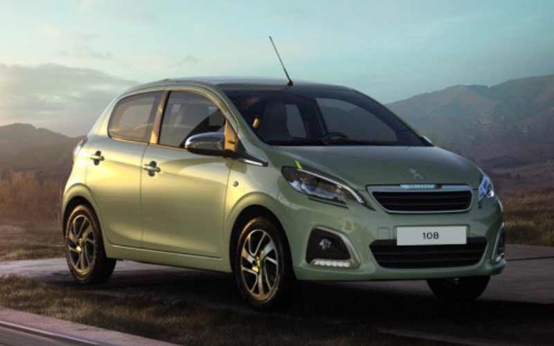 The Peugeot 108 is Given New Design Updates