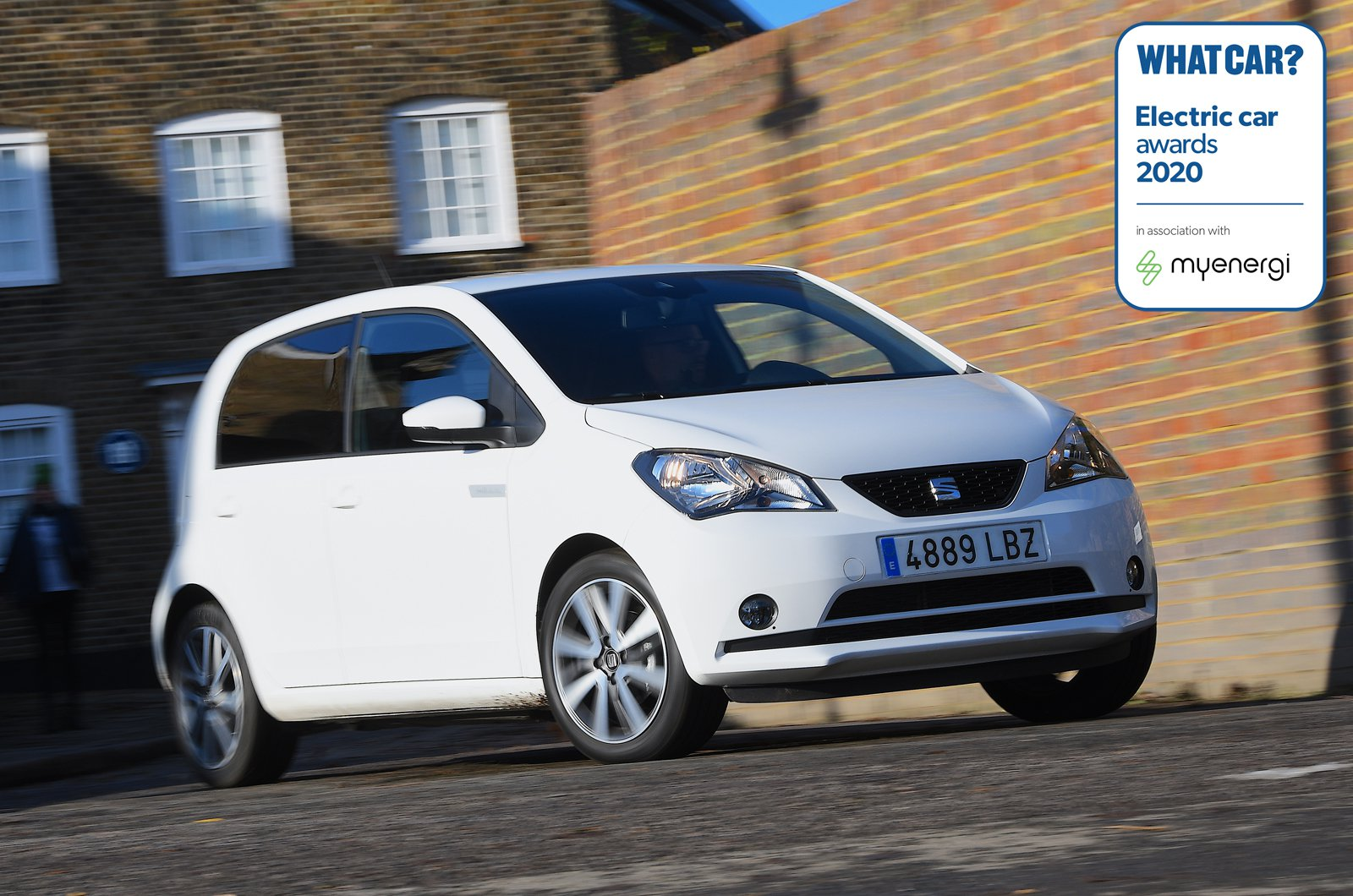 SEAT Mii wins best value EV in the What Car? Electric Car Awards 2020