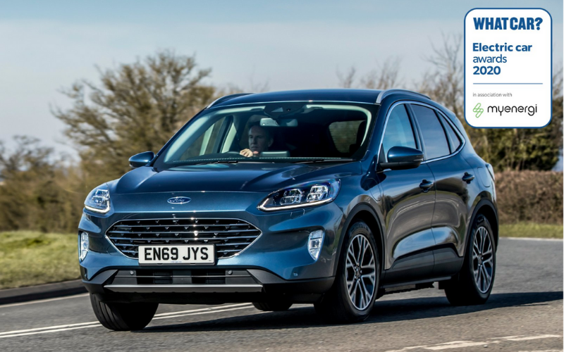 Ford Kuga PHEV Named Best Large Hybrid SUV At What Car? Electric Awards 2020