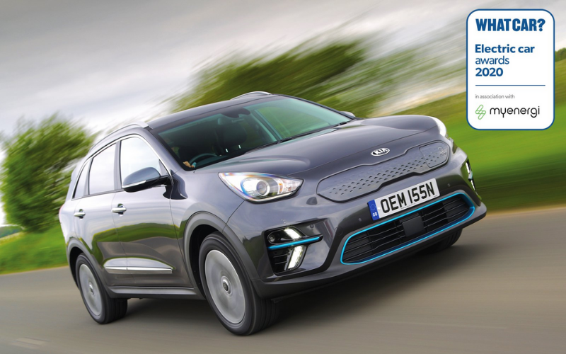 The Kia E-Niro Wins Best Small SUV At The What Car? Electric Car Awards