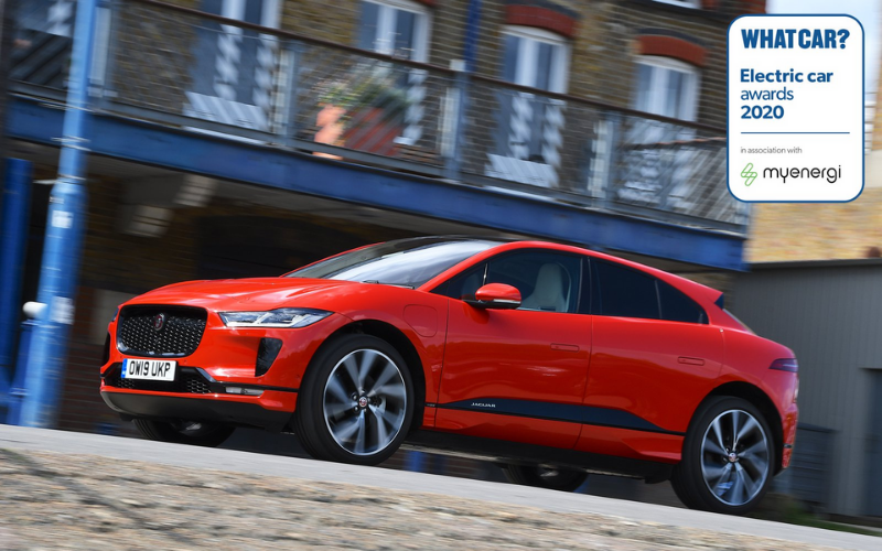 The Jaguar I-PACE Is Named What Car? Electric Luxury SUV Of The Year