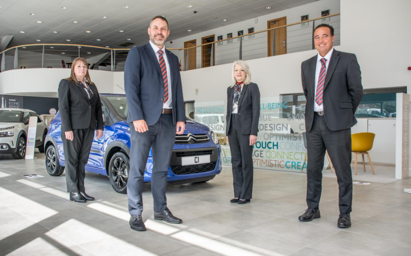 Investment Works Completed On Bristol Street Motors Worcester Citroen