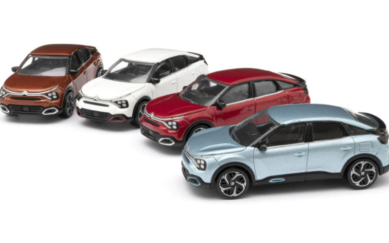 The Citroen Miniatures Catalogue Is Joined by The New C4 And New E-C4