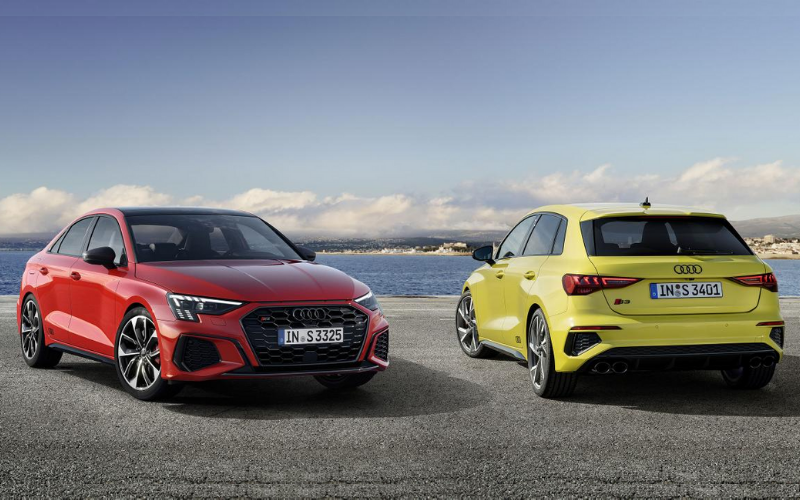Audi Reveals The All New Audi S3 Sportback and S3 Saloon