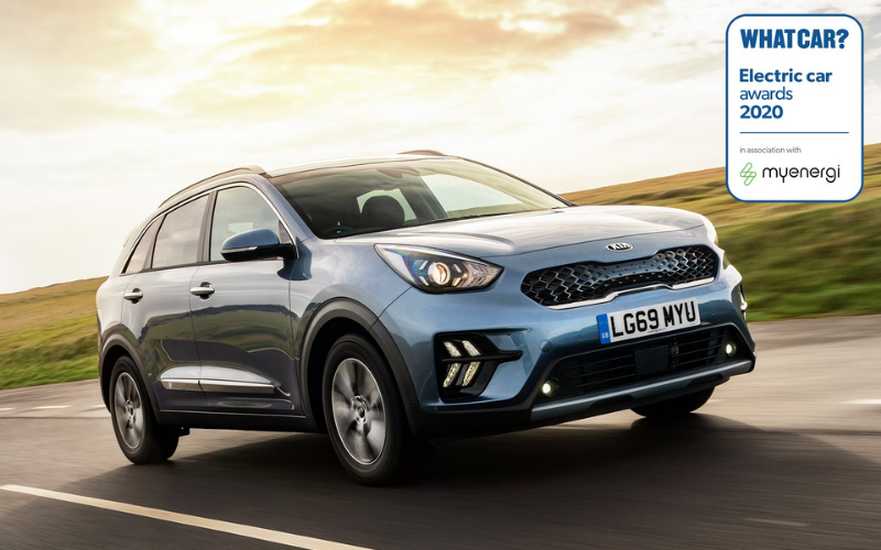 What Car? Name The Kia Niro PHEV 'Best Hybrid Small SUV'