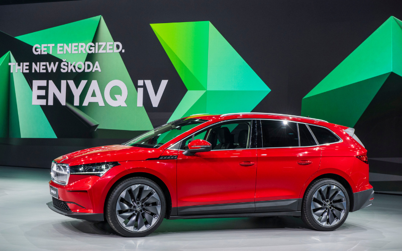 SKODA Celebrate World Premiere of the New SKODA ENYAQ iV
